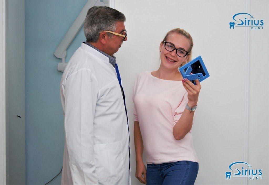 Счастливая улыбка наших пациентов для нас лучшая награда!
